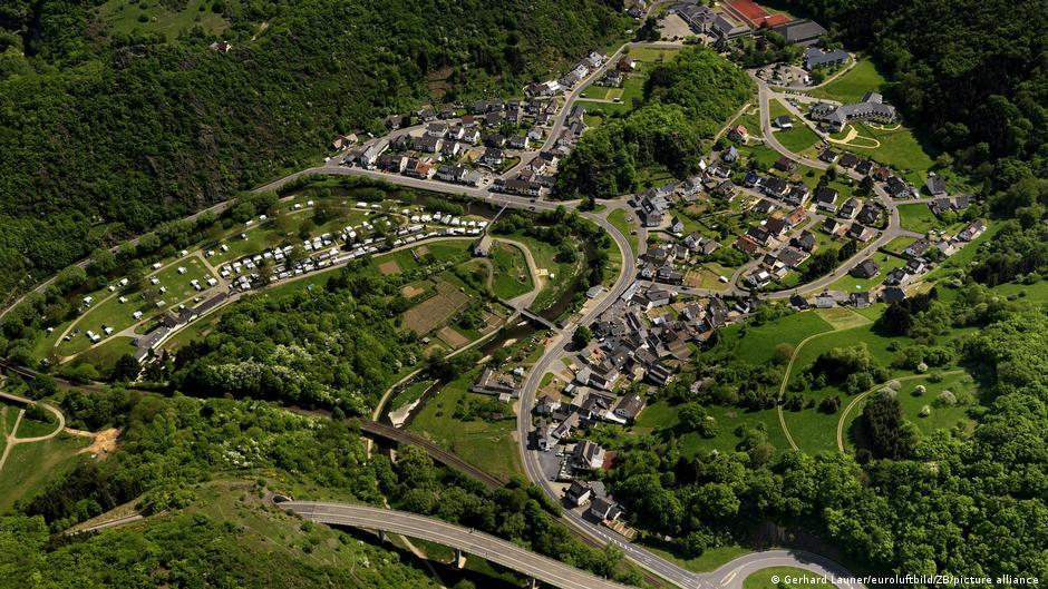 Deutschland Unwetter in Rheinland-Pfalz Altenahr Altenburg vorher