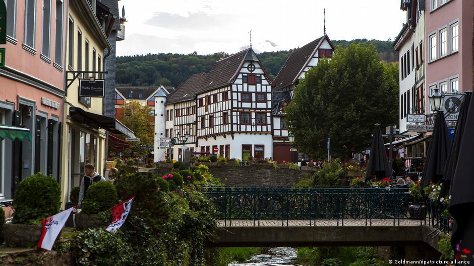 Deutschland Unwetter Bad Münstereifel vorher