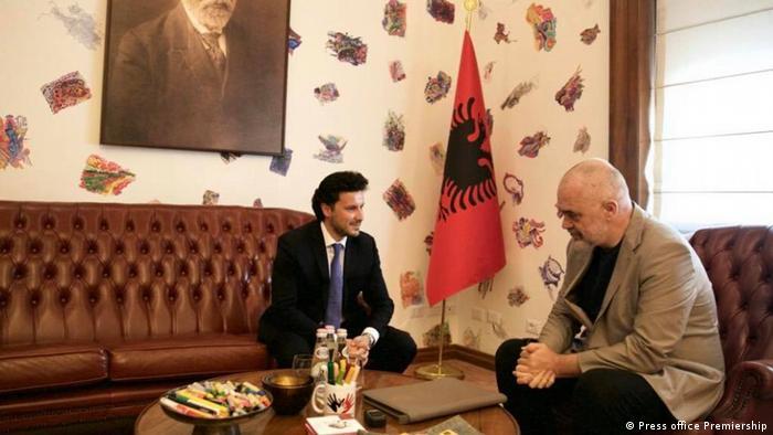 Albanien | Besuch Dritan Abazovic | stellvertretender Premierminister von Montenegro