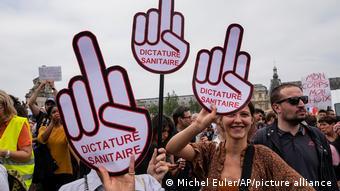 Διαδήλωση στο Παρίσι