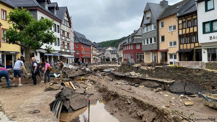 Deutschland Unwetterkatastrophe | Bad Münstereifel