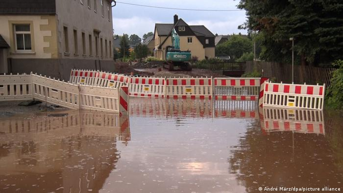 Flooding in Saxony