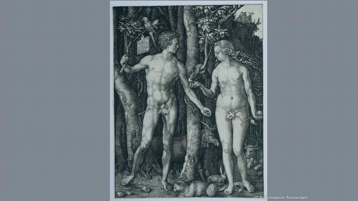 Pressebilder Ausstellung Dürer war hier Aachen | Adam und Eva