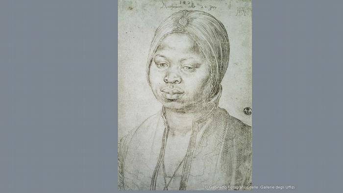 Портрет 20-летней Катарины, 1521-й год