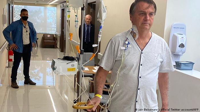Brasilien I Präsident Jair Bolsonaro aus Krankenhaus entlassen