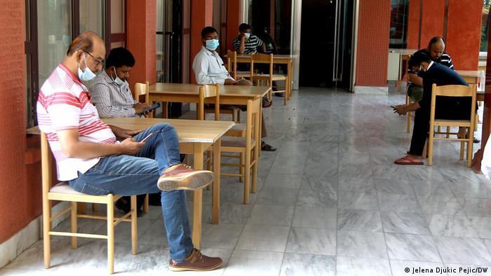 Indische Staatsbürger in serbischer Quarantäne