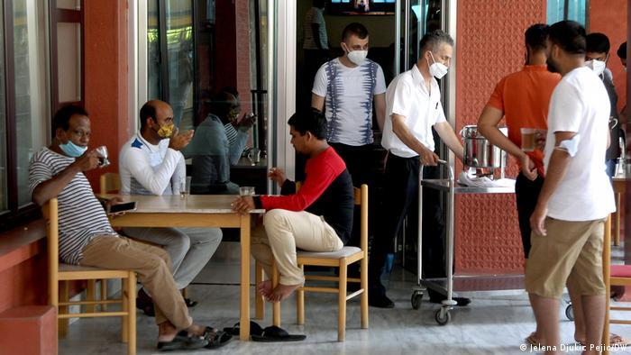 Indijski turisti u hotelu Vidikovac