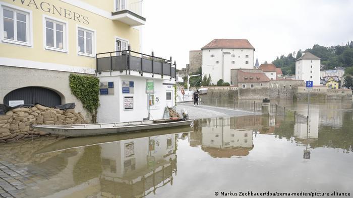 Passau wappnet sich vor dem Hochwasser