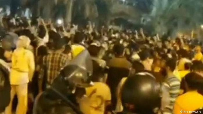 اعتراضات مردم استان خوزستان در چند روز گذشته