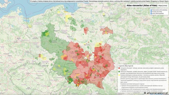Atlas mržnje Poljske