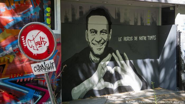 Schweiz | Alexei Nawalny Graffiti