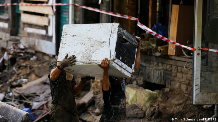 Deutschland Unwetterkatastrophe