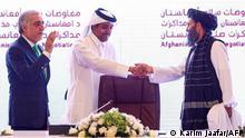 Katar, Doha | Friedensverhandlung zwischen dem Afghanischen Staat und den Taliban