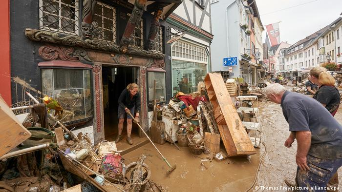 Γερμανια, πλημμύρες, καταστροφές, Ρηνανία Παλατινάτο,