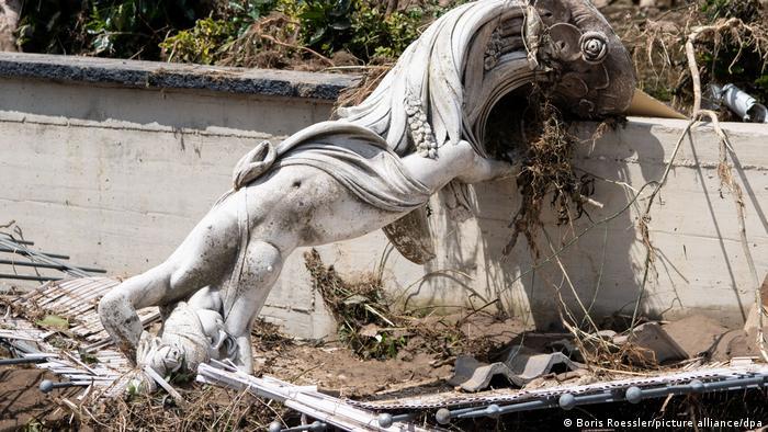 Селище Маріенталь у долині річки Ар фактично повністю зруйноване
