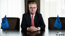 Dirk Schuebel, Leiter der Delegation der Europäischen Union in Belarus