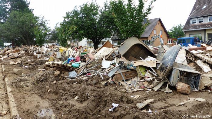 Sinzig nach der Flutkatastrophe