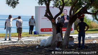 Προετοιμασίες για την άφιξη του Τούρκου προέδρου
