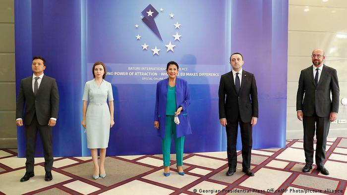 Грузия, Молдова и Украина заявили на конференции в Батуми о стремлении в ЕС  | Новости из Германии о Европе | DW | 19.07.2021