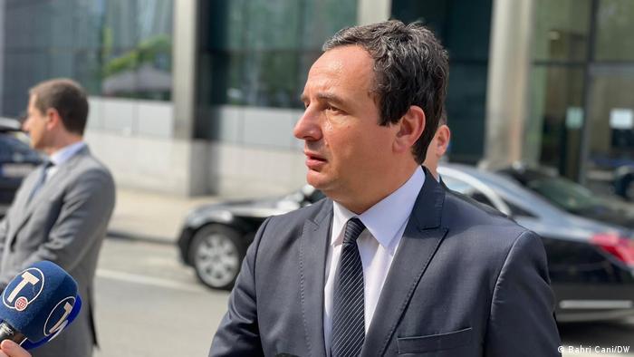 Belgien Brüssel | Premierminister Kosovo | Albin Kurti