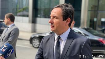 Belgien Brüssel   Premierminister Kosovo   Albin Kurti