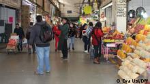 Central de Abastos in Mexico City. Foto: Eva Usi/DW 02.07.2021 i