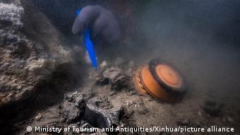 Ägypten I Archäologie Unterwasser Alexandria
