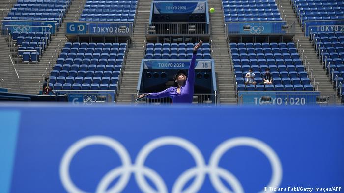 Još samo malo i počinje Olimpijada u Tokiju (23. 07.- 08.08.). Naomi Osaka trenira na domaćem terenu.