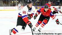Eishockey-Spieler Luke Prokop von den Nashville Predators / Calgary Hitmen
