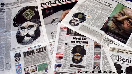 σκίτσα, Μωάμεθ, Βέστεργκορντ, Δανία, Charlie Hebdo