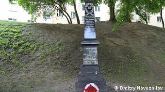 Мемориал Яма в центре Минска. Здесь в 1942 году нацистами было расстреляно около 5000 узников Минского гетто