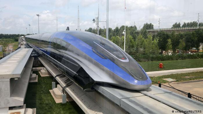 China Hochgeschwindigkeitszug Qingdao