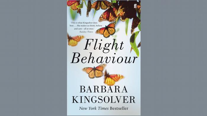 Buchcover von Flight Behaviour von Barbara Kingsolver
