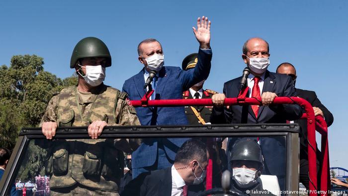 سفر اردوغان به قبرس، ۲۰ ژوئیه ۲۰۲۱