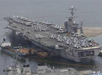 USS George Washington (Foto: AP)