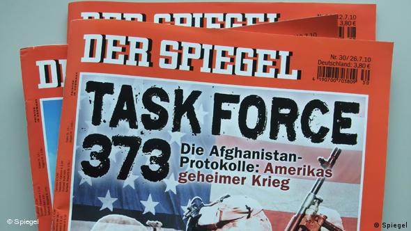 Flash-Galerie Cover Spiegel Task Force 373