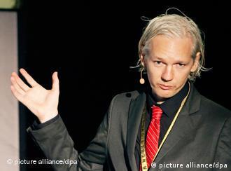 Julian Assange in November 2009 in Copenhagen