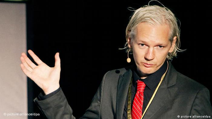 Julian Assange Wikileaks Flash-Galerie (picture alliance/dpa)