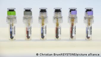 капсулы с допинг-пробами