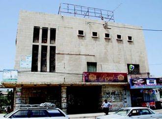 Außenansicht des Kino Jenin im Westjordanland (Foto: DW)