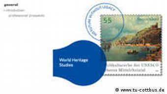 Screenshot World Heritage Studies an der TU Cottbus Technische Universität Cottbus Weltkulturerbe Studien