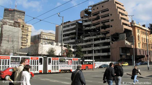 Flash-Galerie Belgrad Nato Bombardement