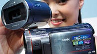 3D Camcorder Kamera HD Japan Panasonic