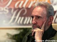 Fidel Castro during a meeting with artists and intellectuals in Havana, Cuba, July 2010