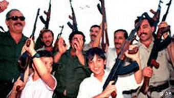Irak Kinder Waffen
