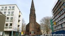 Die Marienkirche in der nordrhein-westfälischen Stadt Bochum am 15.03.2008. Foto: Horst Ossinger dpa/lnw +++(c) dpa - Report+++