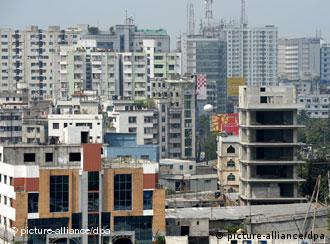 Dhaka is one of the fastest growing megacities in the world