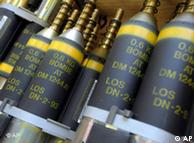Bombas de fragmentação alemãs. Berlim quer destruir estoques até 2015