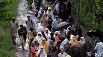 Überschwemmung in Pakistan
