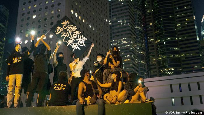 纪录片《香港:一座起来抗争的城市》正在德法公共电视台Arte进行网上公映